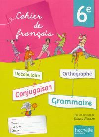 Cahier de français 6e