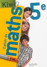 Cahier de maths 5e