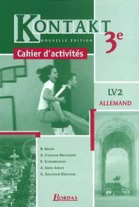 Kontakt 3e allemand LV2 : cahier d'activités