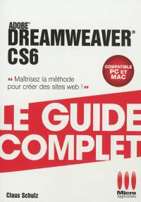 Adobe Dreamweaver CS6 : compatible PC et Mac