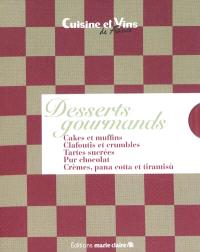 Desserts gourmands