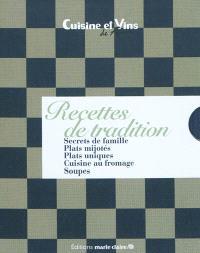 Recettes de tradition