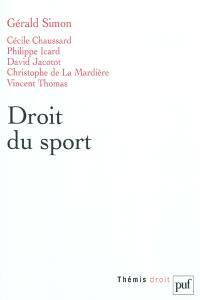 Droit du sport