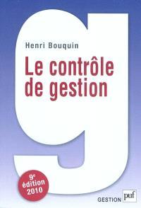 Le contrôle de gestion : contrôle de gestion, contrôle d'entreprise et gouvernance