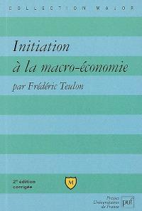 Initiation à la macro-économie
