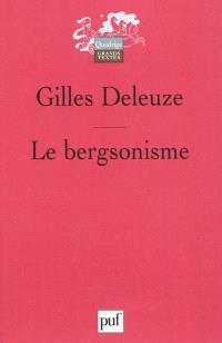 Le bergsonisme