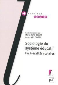 Sociologie du système éducatif : les inégalités scolaires