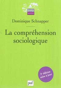 La compréhension sociologique : démarche de l'analyse typologique