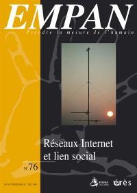Empan. n° 76, Réseaux Internet et lien social