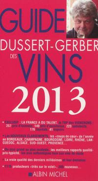 Guide Dussert-Gerber des vins 2013
