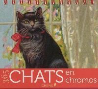 365 chats en chromos : calendrier perpétuel