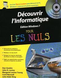 Découvrir l'informatique pour les nuls : édition Windows 7
