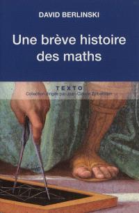 Une brève histoire des maths : récit
