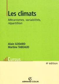 Les climats : mécanismes, variabilité, répartition