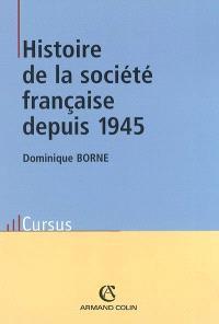 Histoire de la société française depuis 1945