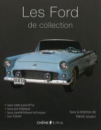 Les Ford de collection