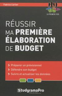 Réussir ma première élaboration de budget