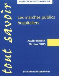 Les marchés publics hospitaliers