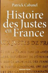 Histoires des Justes en France