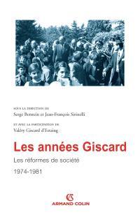 Les années Giscard, Les réformes de société : actes de colloque, Sénat, janvier 2006