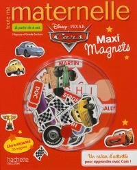 Toute ma maternelle maxi magnets Cars : moyenne et grande sections, à partir de 4 ans