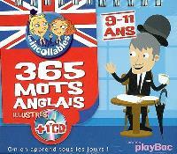 365 mots anglais illustrés : 9-11 ans