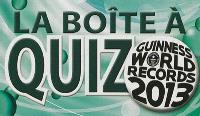 La boîte à quiz Guinness world records 2013