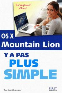 OS X Mountain Lion : y a pas plus simple