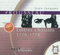 Lettres choisies : 1728-1778