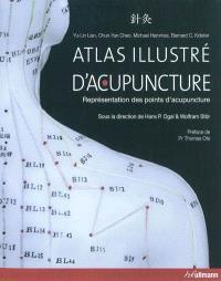 Atlas illustré d'acupuncture : représentation des points d'acupuncture