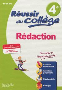 Rédaction 4e