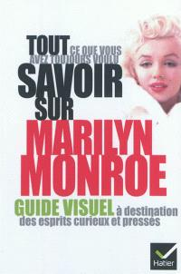 Tout ce que vous avez toujours voulu savoir sur Marilyn Monroe : guide visuel à destination des esprits curieux et pressés