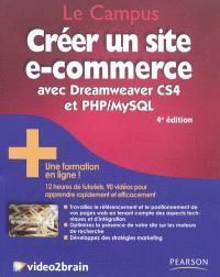Créer un site e-commerce avec Dreamweaver CS4 et PHP-MySQL + une formation en ligne !