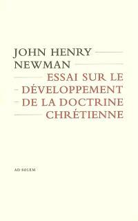 Essai sur le développement de la doctrine chrétienne