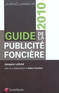 Guide de la publicité foncière 2010