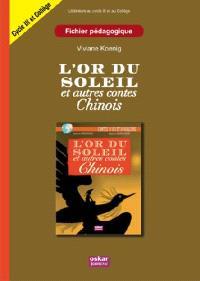 L'or du soleil et autres contes chinois : fichier pédagogique
