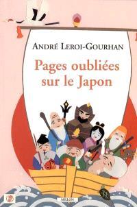 Pages oubliées sur le Japon