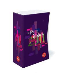 Coffret Petit Robert langue française 2011