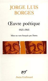 Oeuvre poétique : 1925-1965