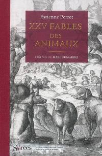 XXV fables des animaux