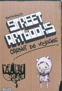 Street art book : carnet de voyage