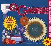 Jeux d'engrenages : construction de machines sur toutes les pages : avec moteur intégré !