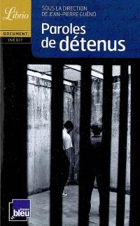 Paroles de détenus