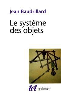Le Système des objets : essai