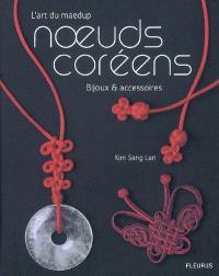 Noeuds coréens : l'art du maedup, bijoux et accessoires