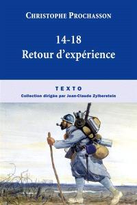 14-18, retour d'expériences