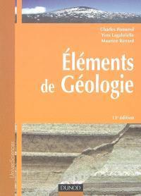 Eléments de géologie : cours