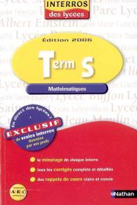 Mathématiques Term S