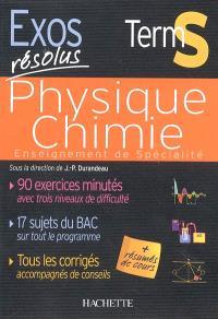 Physique chimie Terminale S : enseignement de spécialité