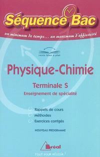 Physique terminale S, enseignement de spécialité : nouveau programme